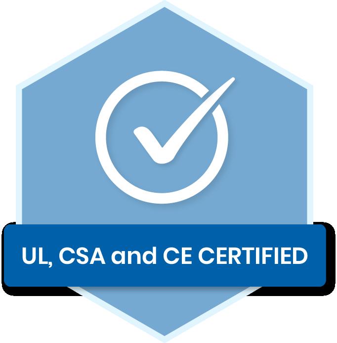 UL-CSA-CE certification